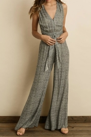 dress forum Zigzag Cutout Jumpsuit - Back cropped