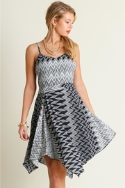 People Outfitter Zigzag Dress - Product Mini Image
