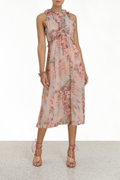 Zimmermann Candescent Waterfall Midi Dress - Product List Image