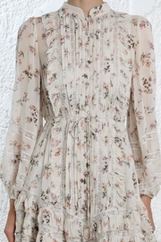Zimmermann Floral Pintuck Mini - Back cropped