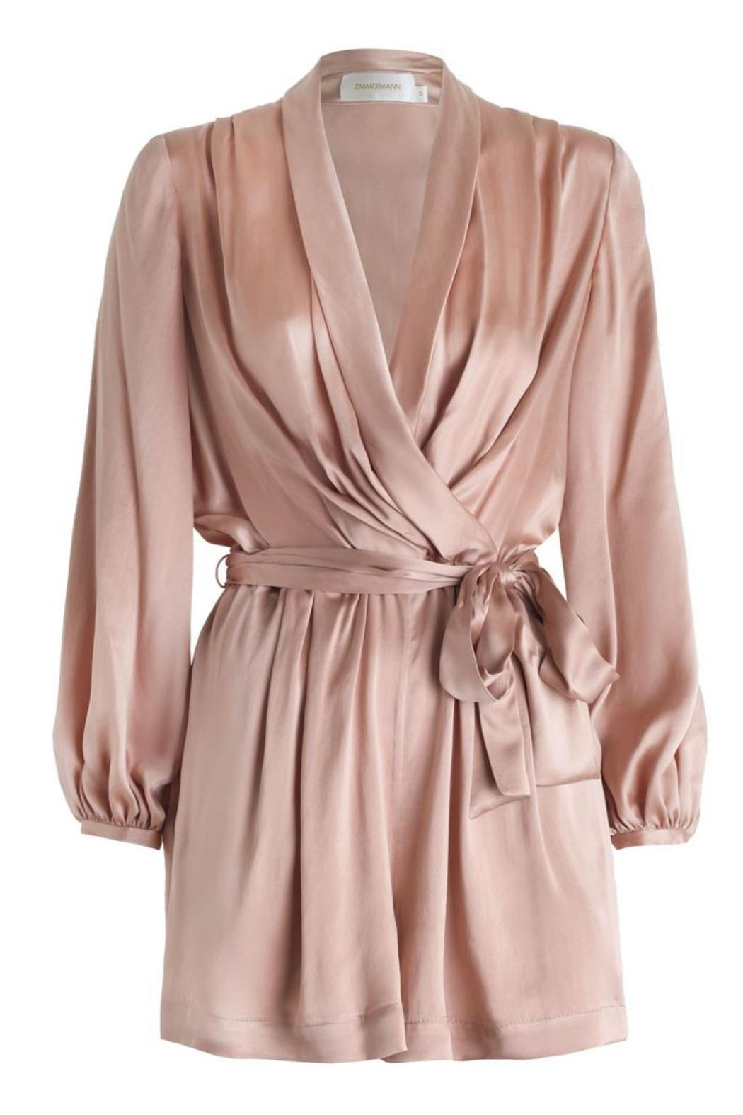 10a056ef3ec Zimmermann Sueded Silk Playsuit from New Jersey by Hartly — Shoptiques