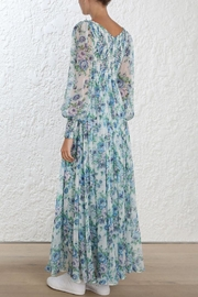 Zimmermann Whitewave Shirred Maxi - Side cropped