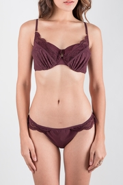 Zimmermann Swimwear Lace Bikini Set - Front cropped