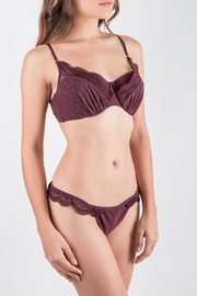 Zimmermann Swimwear Lace Bikini Set - Front full body