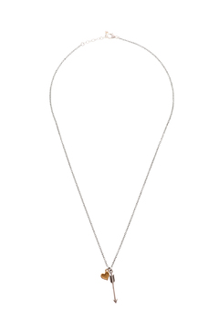 Shoptiques Product: Arrow Heart Necklace