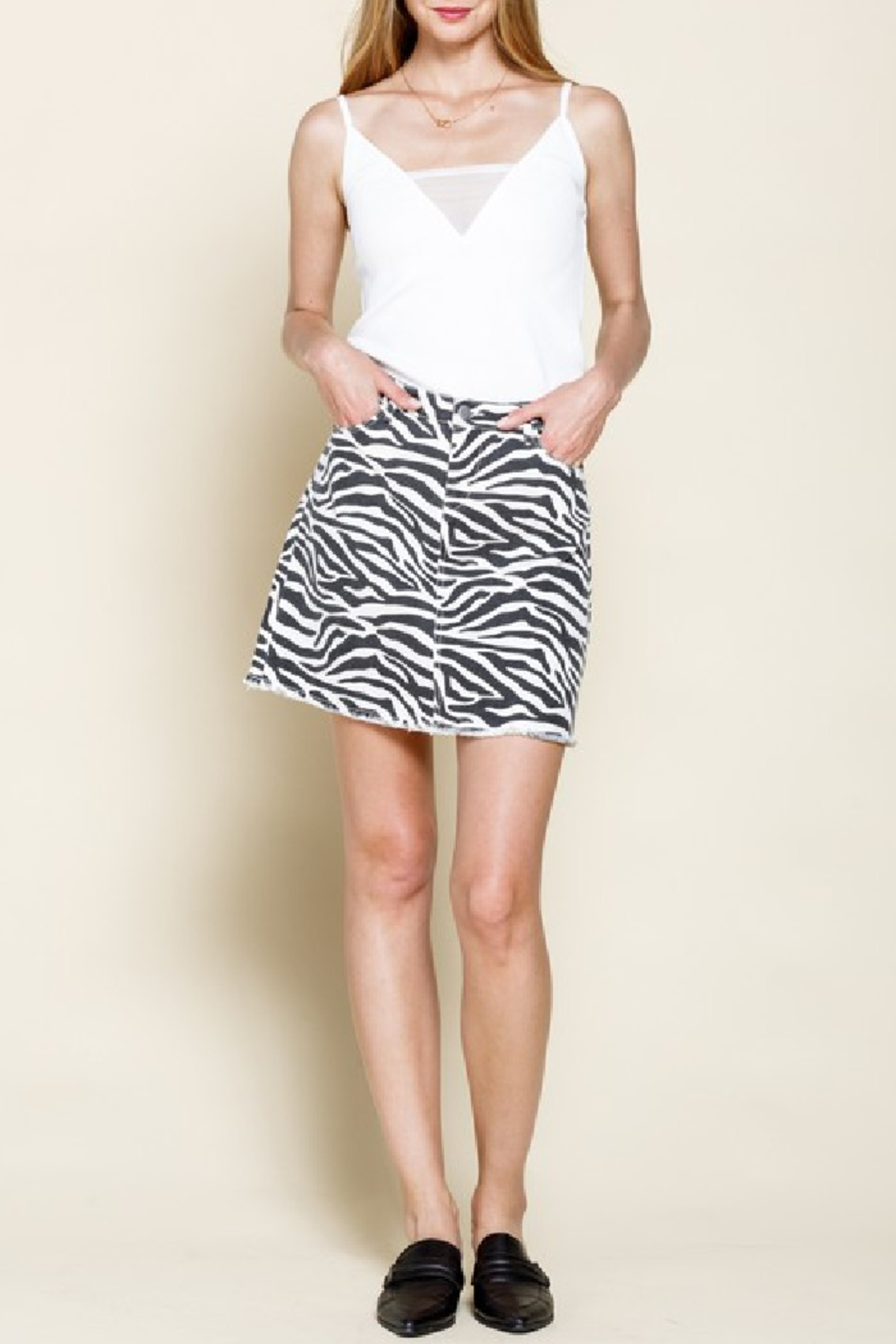 Mittoshop Zina Mini Skirt - Main Image