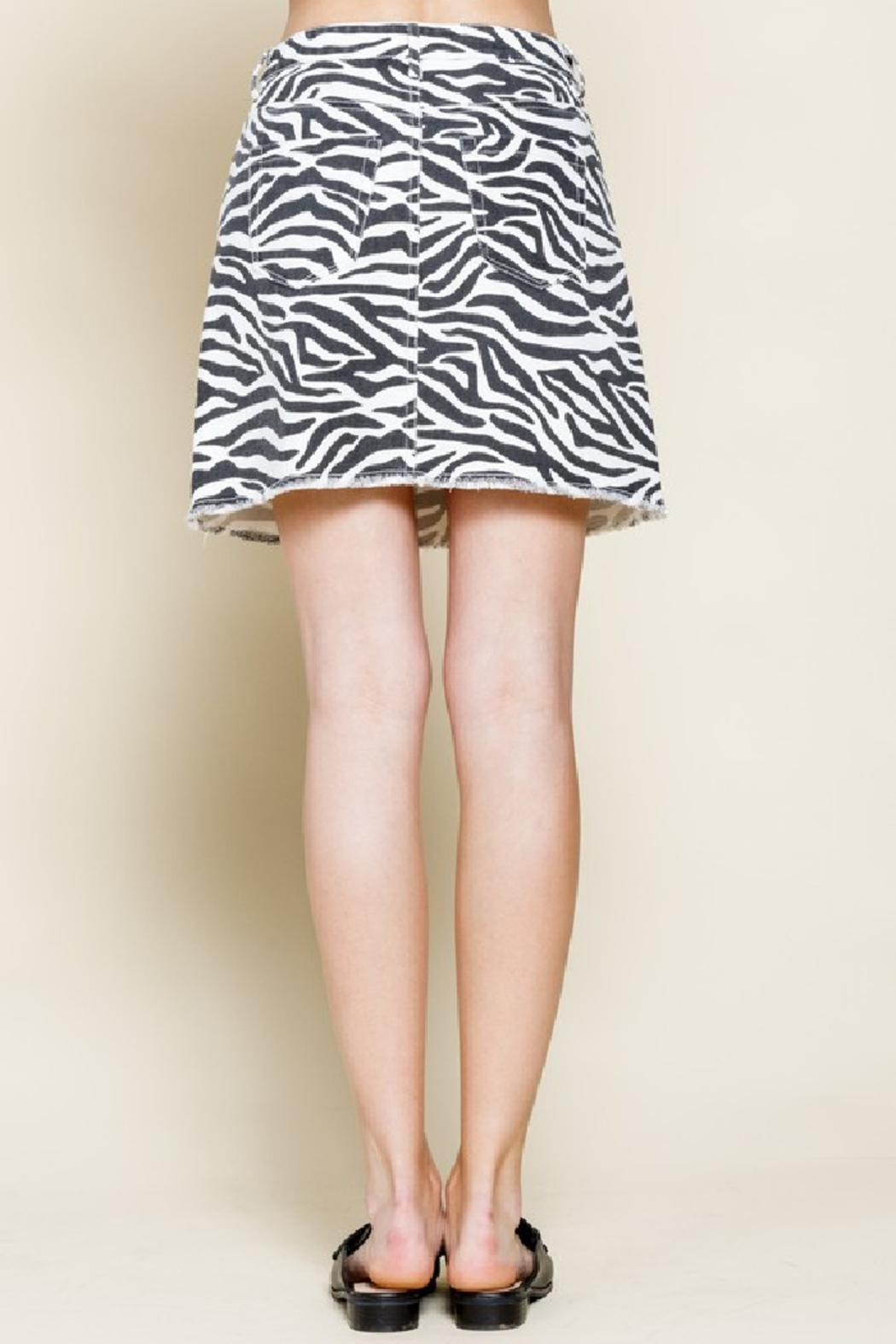 Mittoshop Zina Mini Skirt - Front Full Image