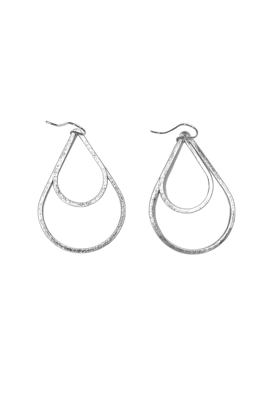 Zina Kao Hoop Earrings - Main Image