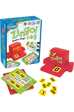 ThinkFun Zingo! 123 Number Bingo! - Product List Image