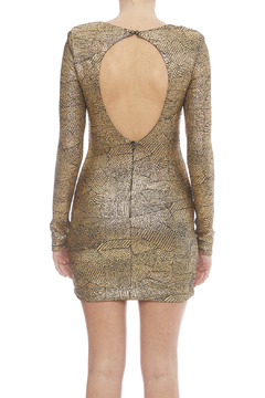 Zio Faux Snakeskin Print Dress - Alternate List Image