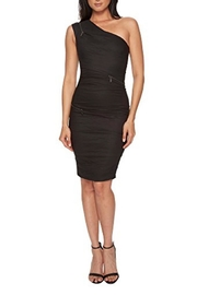 Nicole Miller Zip Detail Dress - Product Mini Image