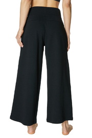 Betsey Johnson Zip Front Hi Waisted Crop Sweatpant - Side cropped