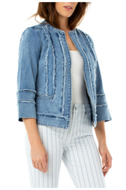 Liverpool  Zip Front Jacket - Front cropped