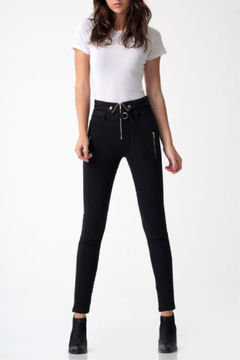 Blue Revival Zip Me Up Hi Waist Skinny - Product List Image