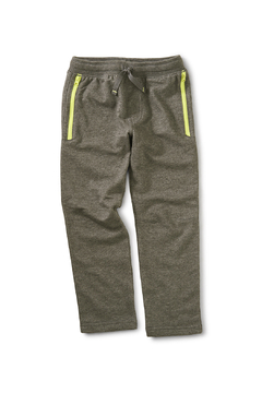 Shoptiques Product: Zip Pocket Joggers - Charcoal Heather Grey
