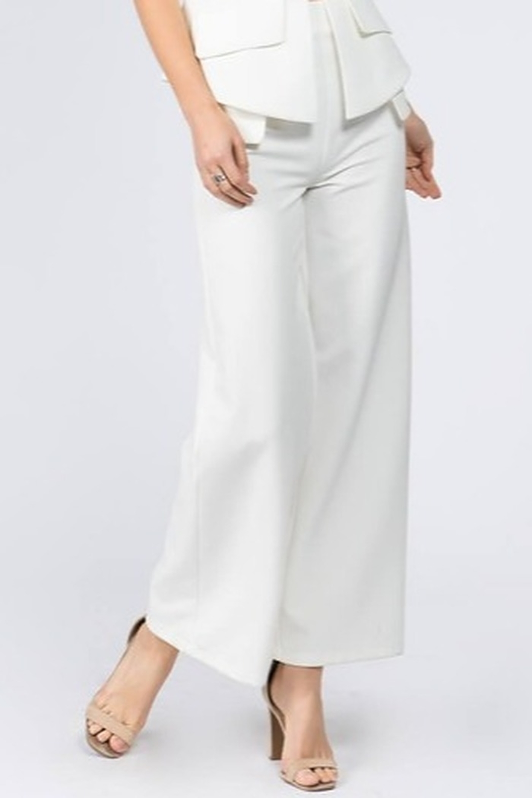 Ontwelfth Zip Pocket Trouser - Front Cropped Image