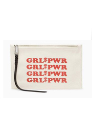 Rebecca Minkoff Zip Pouch Girl Power - Product Mini Image