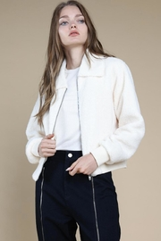 Wild Honey Zip-Up Bomber Jacket - Product Mini Image