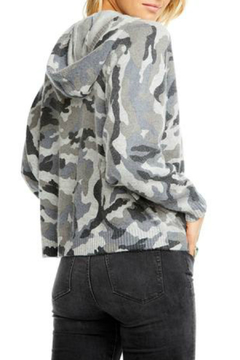Chaser Zip Up Camo Dolman Hoodie - Alternate List Image