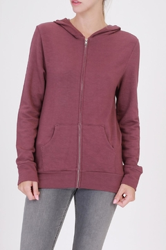 Double Zero Zip Up Hoodie - Product List Image