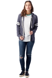 Alternative Apparel Zip Up Hoodie - Front full body