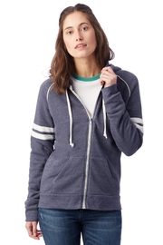 Alternative Apparel Zip Up Hoodie - Front cropped