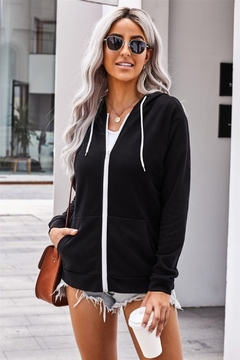 Shewin Zip Up Hoodie - Product List Image