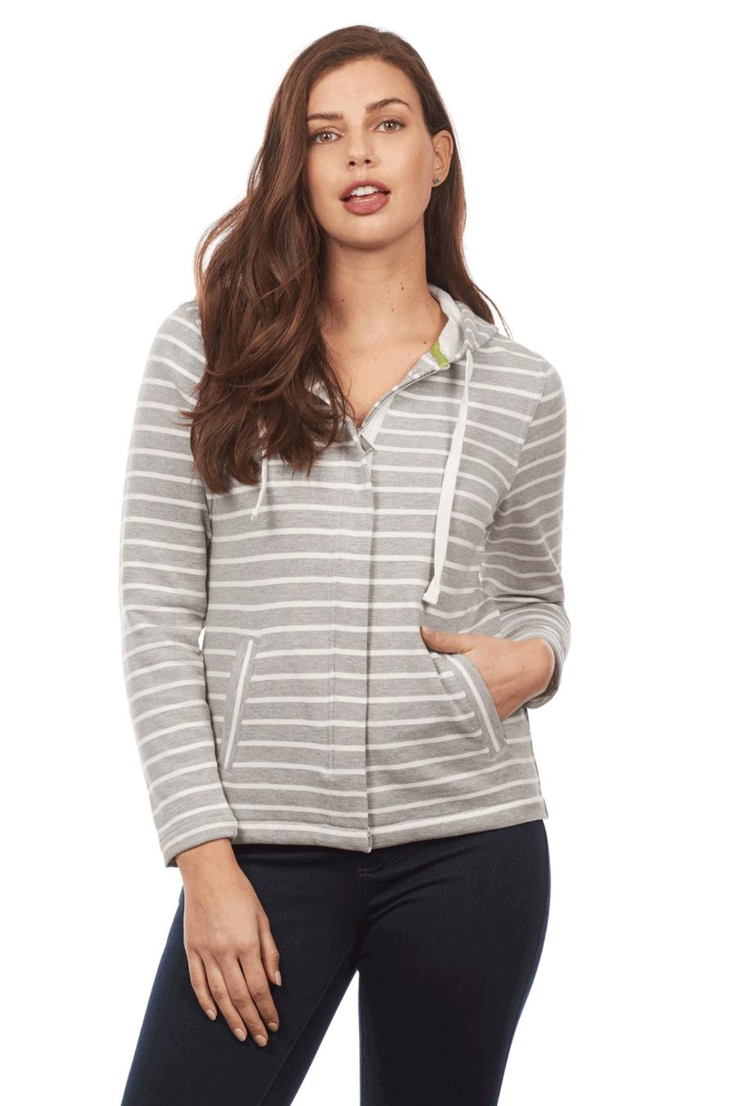 FDJ French Dressing Zip-Up Hoodie Jacket - Main Image