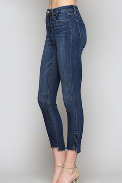 Shoptiques Product: Zipper-Ankle Skinny Jean