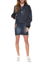 Dex Zipper Bomber Jacket - Product Mini Image