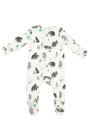 Angel Dear  Zipper Footie - Mama And Cubs - Product Mini Image