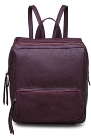 Moda Luxe Zipper Front Backpack - Product Mini Image