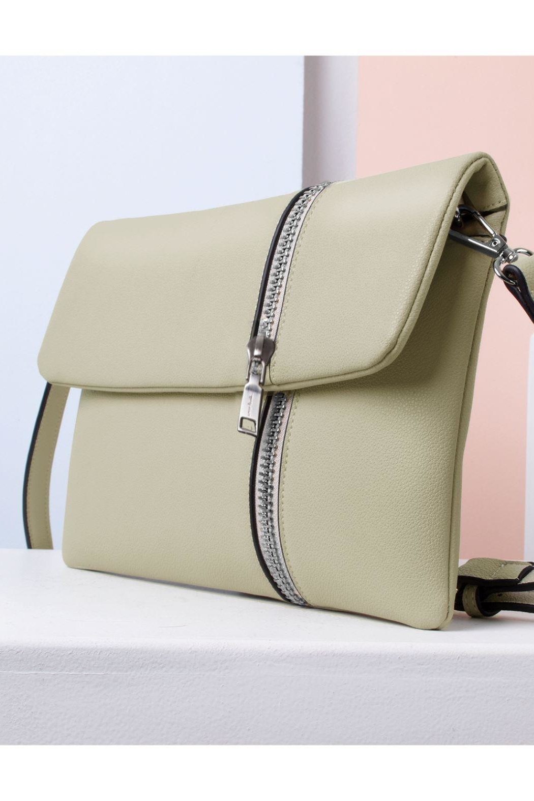 Simply Noelle Zipper Front Clutch - Main Image