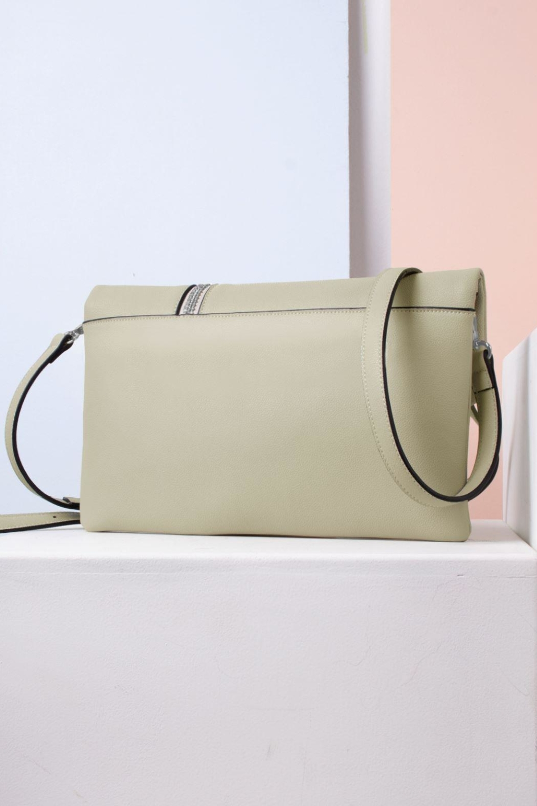 Simply Noelle Zipper Front Clutch - Front Full Image