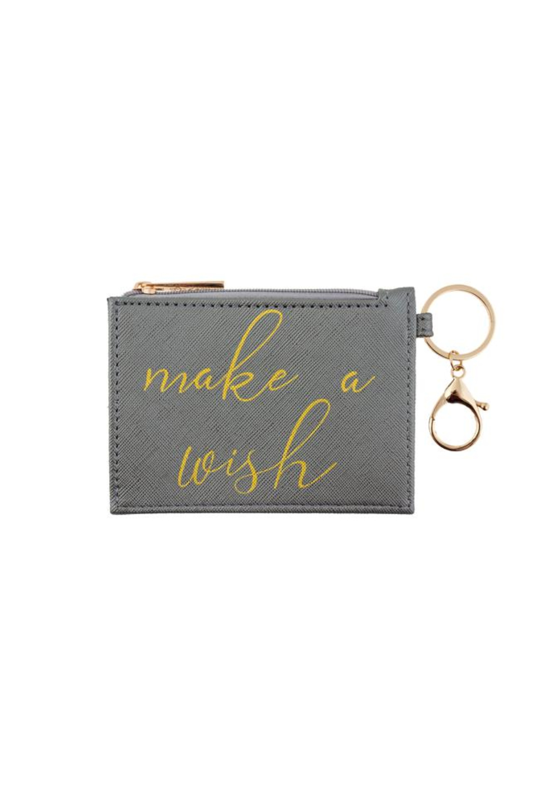 Karma Zipper ID Case - Front Cropped Image