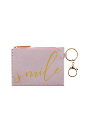 Karma Zipper ID Case - Front cropped