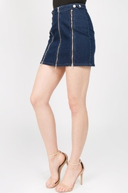 Signature 8 Zipper Mini Skirt - Product Mini Image