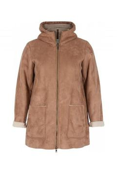 Zizzi Faux Shearling Parka - Product List Image