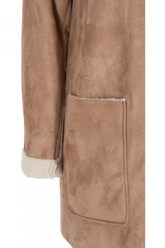 Zizzi Faux Shearling Parka - Alternate List Image