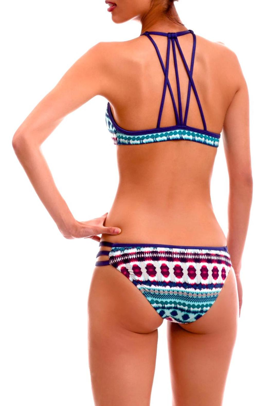Zoë Bikini Logan String Bottoms - Side Cropped Image