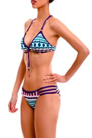 Zoë Bikini Logan String Bottoms - Front full body