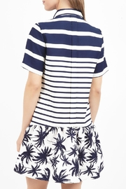 Zoa Collared Print Dress - Front full body