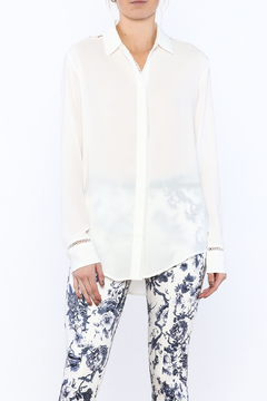 Shoptiques Product: Lovely White Tunic Top