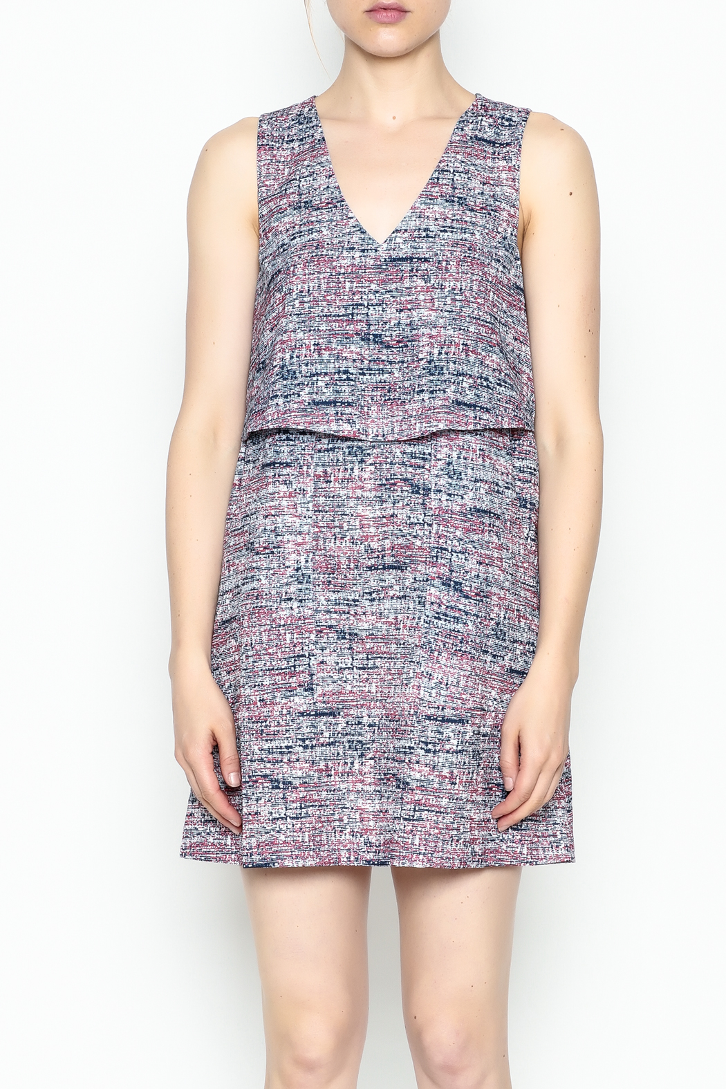 Zoa Digital Print Dress - Front Cropped Image