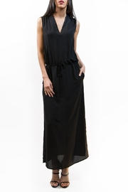 Zoa Lightweight Black Maxi Dress - Product Mini Image