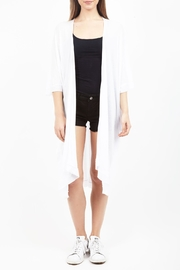 Zoa Long Cardigan - Front cropped