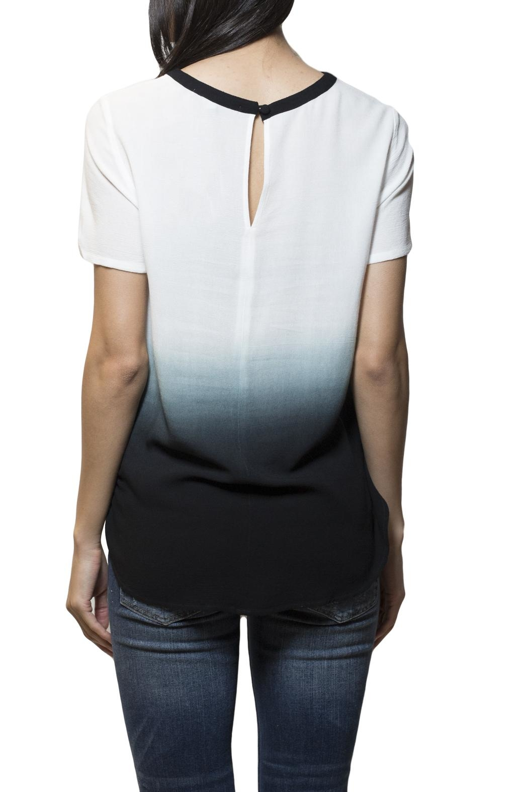 Zoa Ombre Ringer Top - Front Full Image