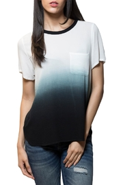 Zoa Ombre Ringer Top - Product Mini Image