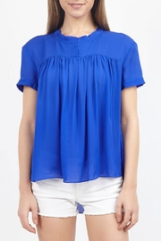 Zoa Silk Flowy Top - Product Mini Image