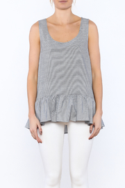 Zoa Grey Sleeveless Top - Side cropped